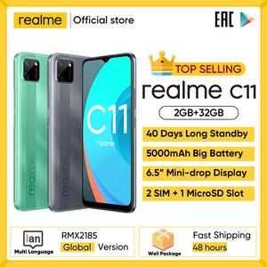 Смартфон realme C3, 5000 мАч, 3 + 32/64 ГБ, 12 МП, NFC