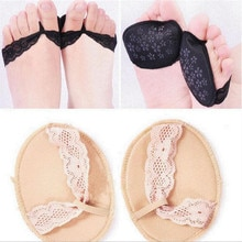 1 Pair Insole Pad Inserts Fore Foot Care Protector Insoles Breathable Anti-slip for High Heel Shoe N
