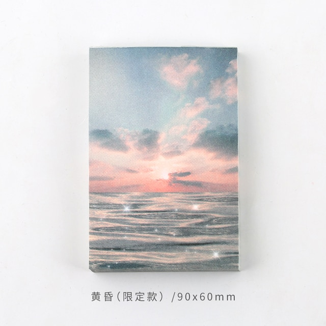 Journamm 100pcs Lot Ins Style Rainbow Star Sunset Waves Loose Leaf Memo Pads Minimalist Write Down Points Artsy Style Memo Pads Memo Pads Aliexpress