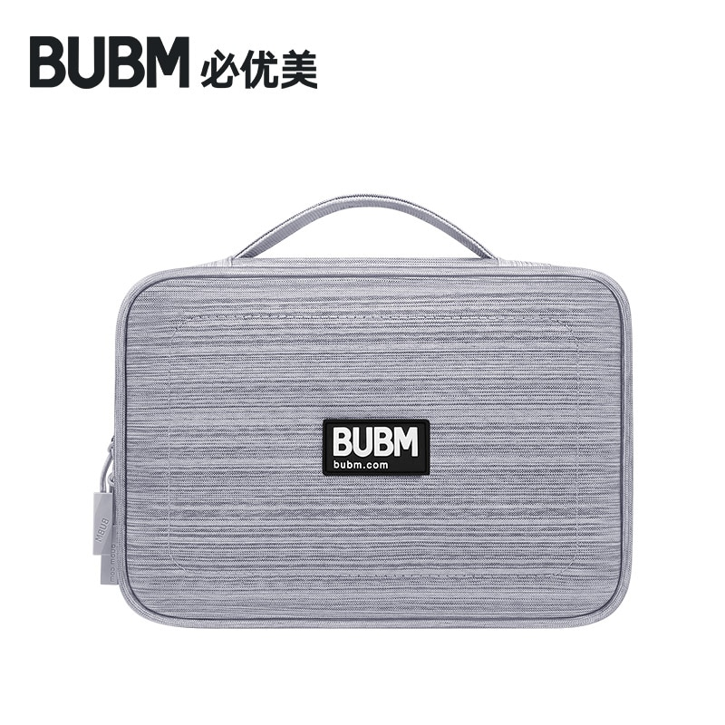 BUBM Bag for power bank digital receiving accessories case for 7.9 inch ipad cable organizer portable USB недорого