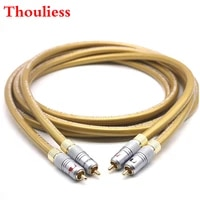 thouliess pair hifi cardas hexlink golden 5c audio cable nakamichi rca interconnect cable for amplifier cd dvd player speaker