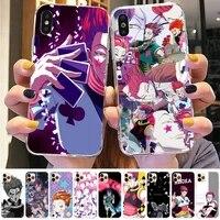 fhnblj hisoka anime hunter x hunter phone case for iphone 8 7 6 6s plus x 5s se 2020 xr 11 12 pro xs max