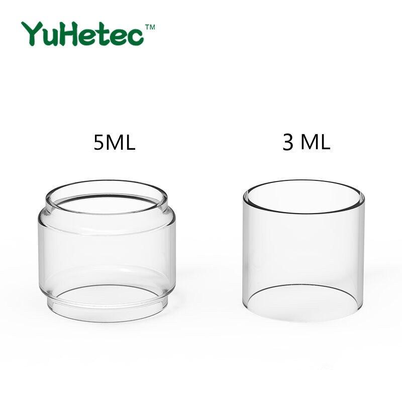 3pcs fatube glass tank for wotofo profile unity rta 3 5ml 5PCS Original FATUBE Replacement Glass TUBE for kylin mini V2 RTA glass tank