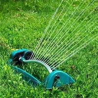 sprinkler automatic swing cooling sprayer dust proof 15 holes sprinkle tool for garden bridge park lawn new arrivals