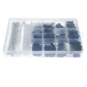 1060pcs boxed DuPont terminal connector SM2.54MM (2P-9P) male and female rubber shell terminal block kit