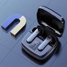 TWS Bluetooth Earphones with Charging Box Waterproof Headphone 9D Stereo Earbuds Headsets Binaural S