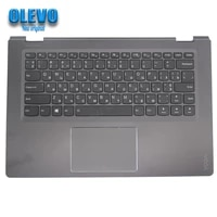 new for lenovo yoga 510 14 510 14ast 510 14ikb 510 14isk flex 4 1470 palmrest upper cover russian keyboard touchpad 5cb0l66126