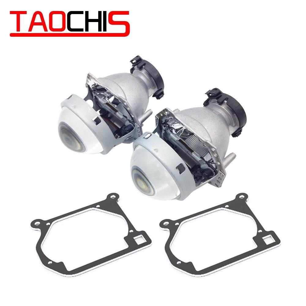 Adaptador de marco de transición de diseño de coche TAOCHIS Hella 3R G5 soporte de actualización de lente de proyector para MAZDA 6 2002-2008