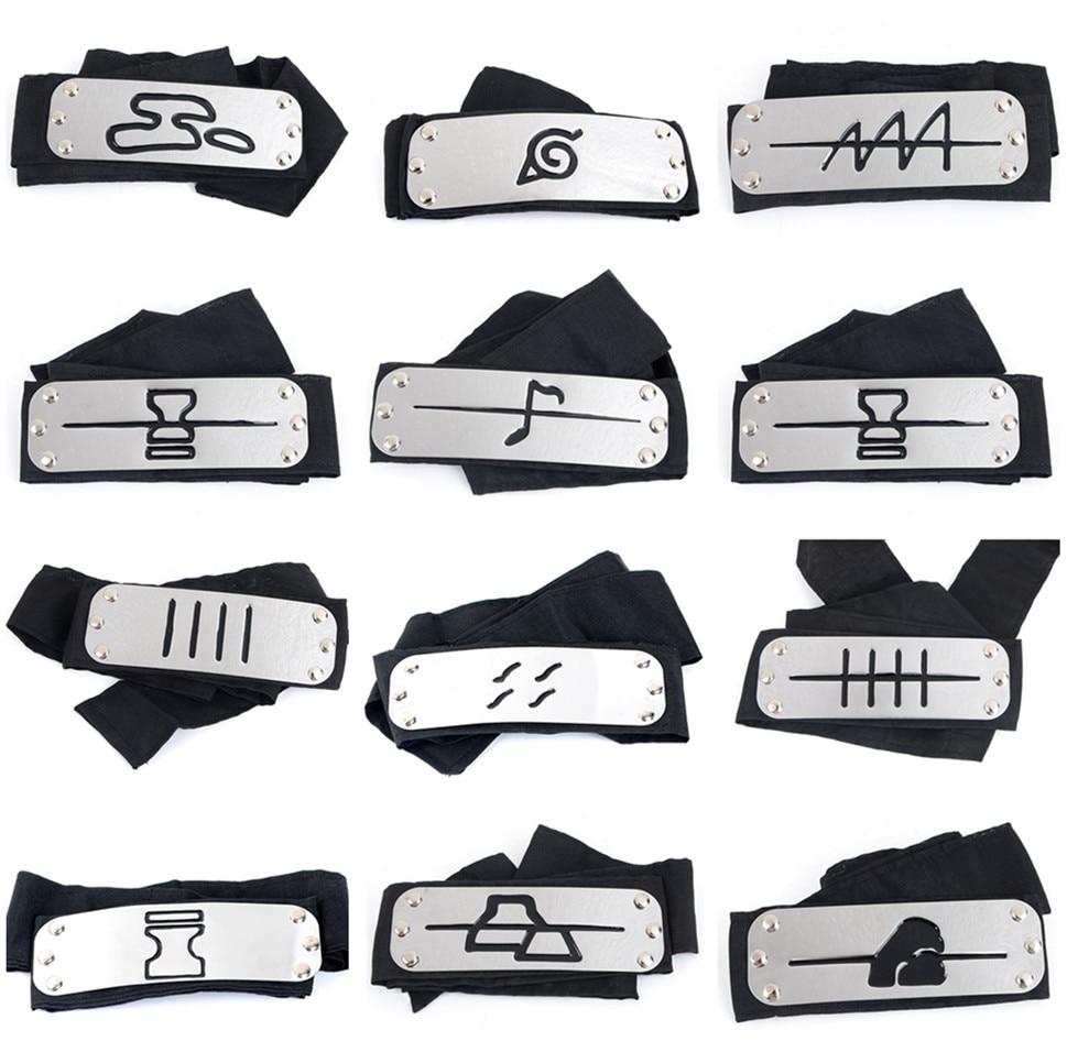 Naruto kakashi quente bandana cosplay trajes acessórios adereços itachi akatsuki madara anime bandana adereços