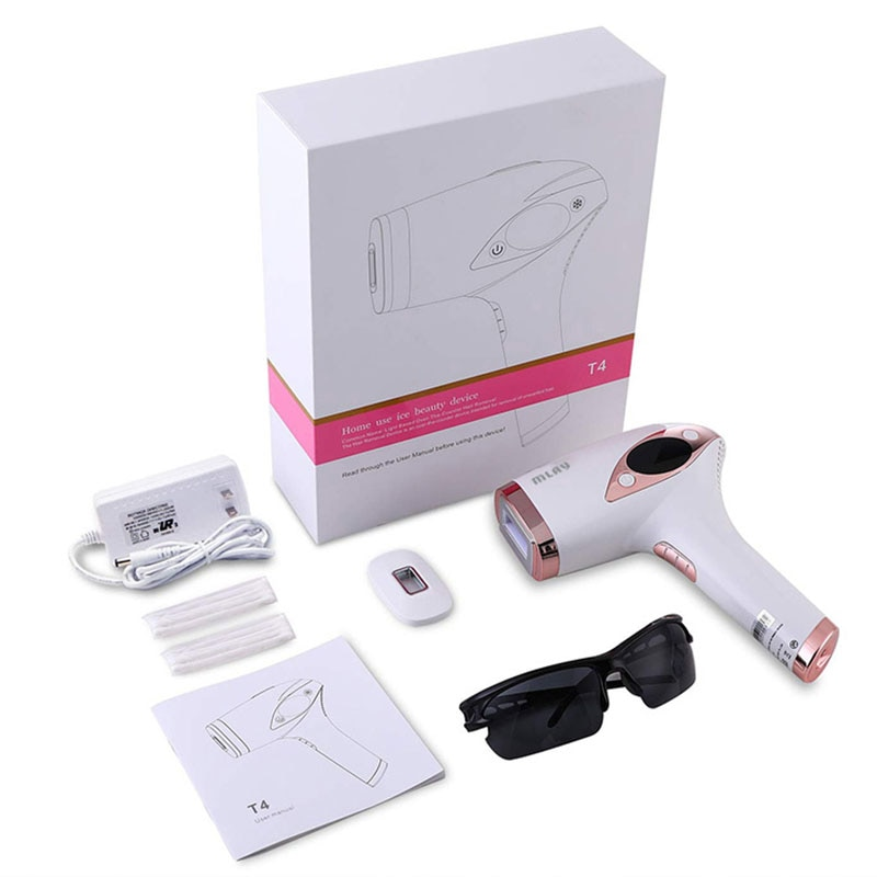MLAY T4 Laser Hair Removal ICE Cold IPL Epilator Permanent  Depilador a Laser Bikini Trimmer Electric Photo Rejuvenation enlarge