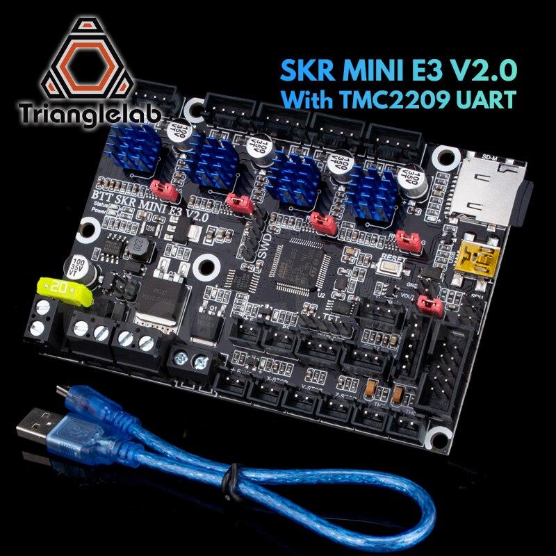 Trianglelab SKR MINI E3 V2.0 32Bit Control Board With TMC2209 UART V1.3 For Creality Ender 3 upgrade CR10 3D Printer Parts