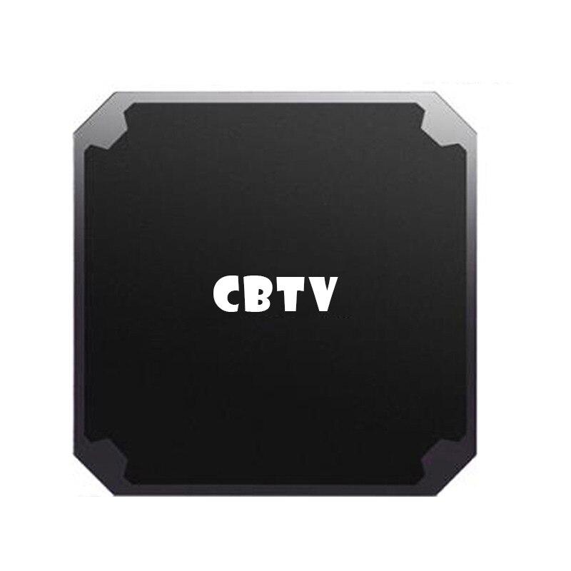 CBTV Dispositivo de TV inteligente PRO Android 9,0 IPTV TV Box Europa de moda Países Bajos Alemania holandés Reino Unido nórdico Android Media Player no incluye aplicación