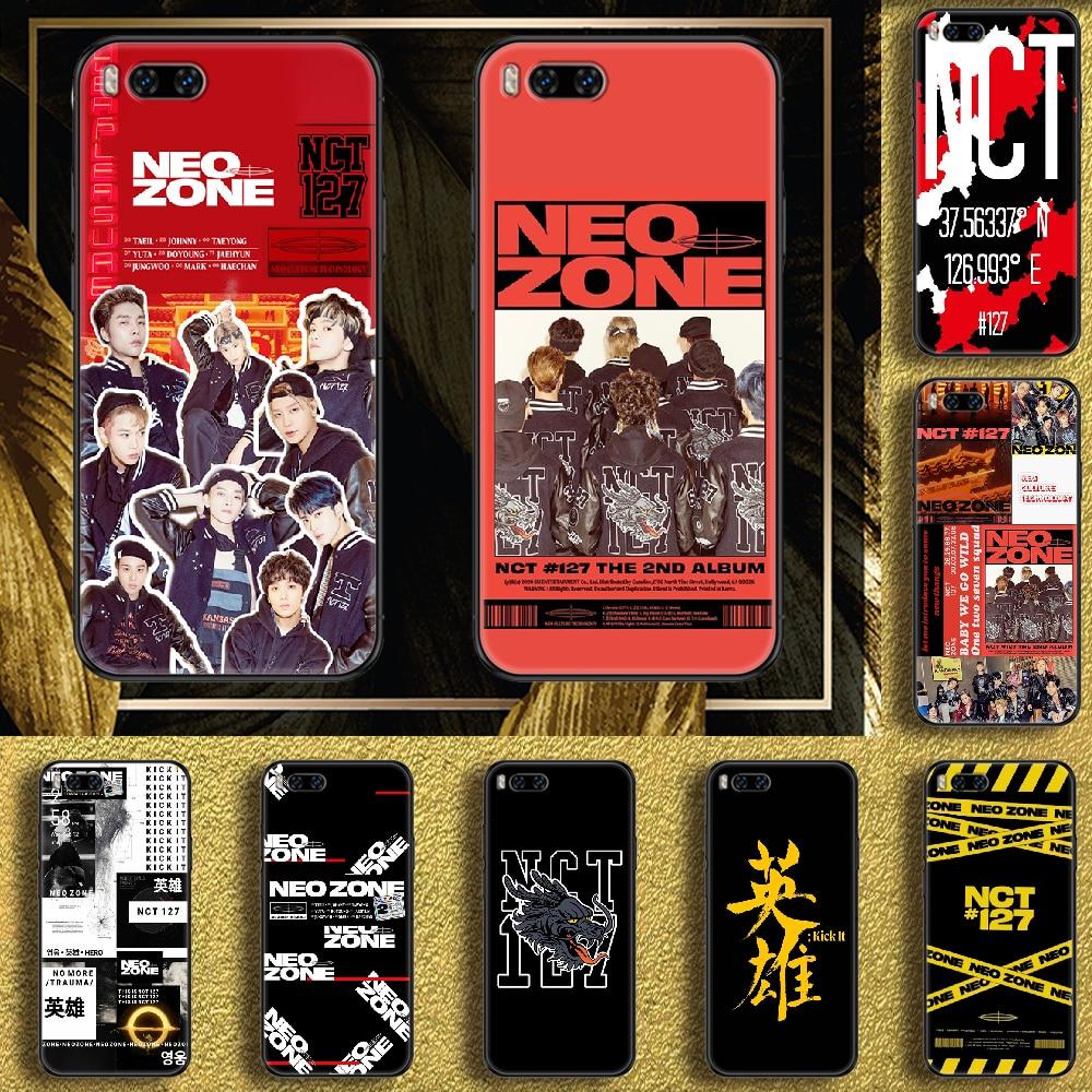 Kpop NCT 127 Neo zona funda de teléfono para Xiaomi Mi Max...