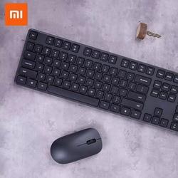 Xiao mi Набор беспроводной клавиатуры и мыши беспроводной офис беспроводной Транс mi ssion Многофункциональный ярлык простой тонкий с логотипом mi