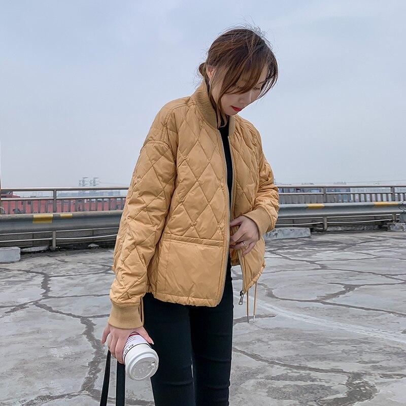 Lightweight Jacket down Jacket Women's Short 2021 Autumn and Winter New Super Light Korean Style Small Thin Coat