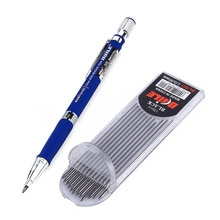 2,0mm Mechanische Bleistift Set 2B Automatische Bleistifte Mit 12 stücke Grau/Bunte Bleistift Blei für Zeichnung Schreiben Werkzeuge schreibwaren