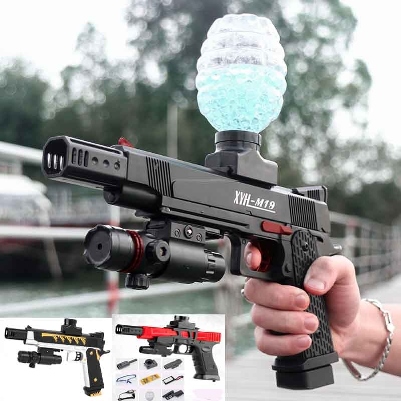 Electric Gun Toy Gel Ball Gun Water Bullet Air gun Pistol Paintball Gun Outdoor Game Airsoft Air Toy Gun Boy Toy Weapon Fake Gun