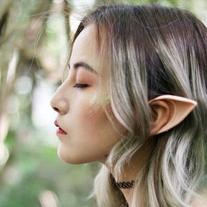 1 Pair Elves Cosplay Ears Men Women Halloween Holiday Party Angel Simulated Role Prop Soft Latex Fairy Pointed Ears Accessories