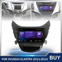 android car radio gps navigation head unit for hyundai elantra 2011 2012 2013 car multimedia player stereo touch screen 128g