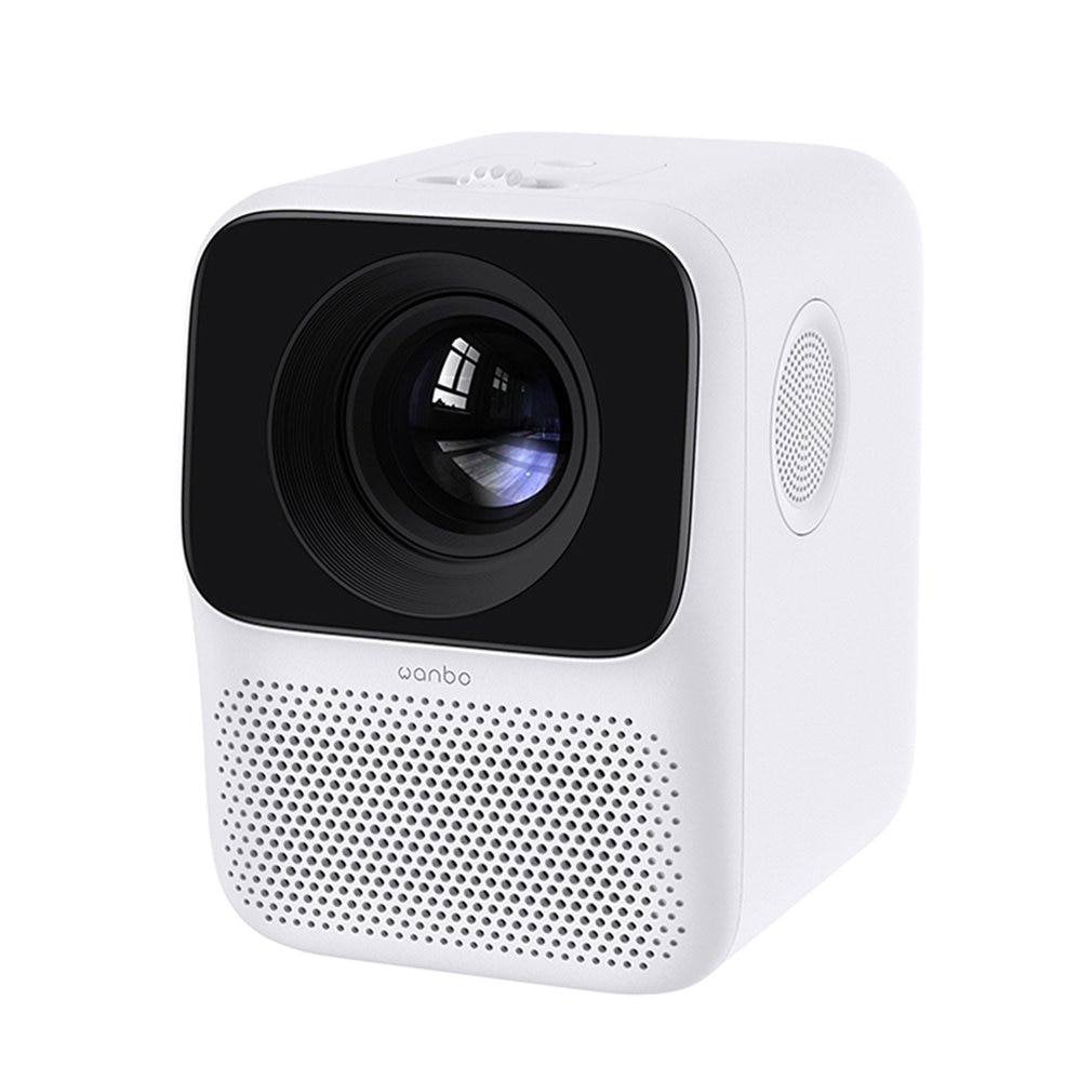 Global Version T2 MAX Projector 1080P Mini LED Portable Projector 1920x1080P Vertical Keystone Correction For Home Office