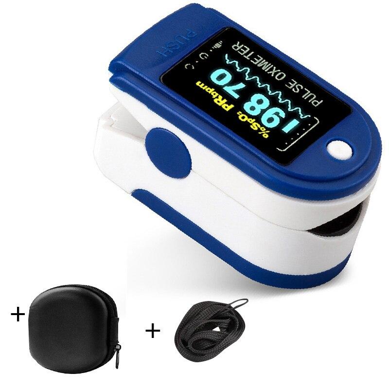 Oxímetro Digital médico OLED con Sensor De oxígeno en sangre para el hogar