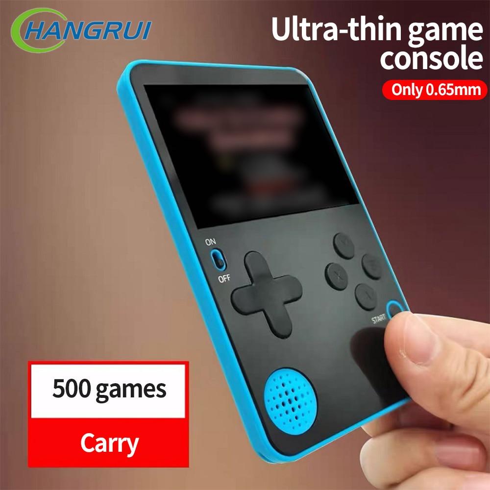 K10-Consolas De videojuegos 500, Consolas De videojuegos clásicos Retro, compactas, con pantalla...