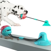 dog toys silicone suction cup for dogs tug interactive ball toys for petdog toothbrushchew bite tooth cleaning