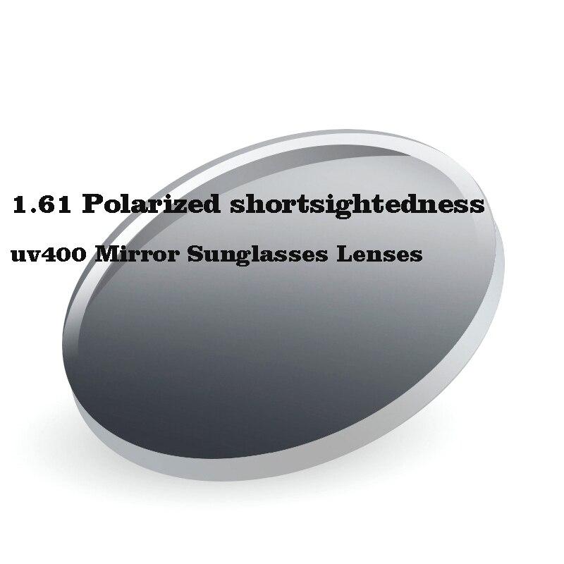 1.61 عدسات نظارات شمسية عاكسة ذات قصر النظر UV400 عدسات محرك ليلي