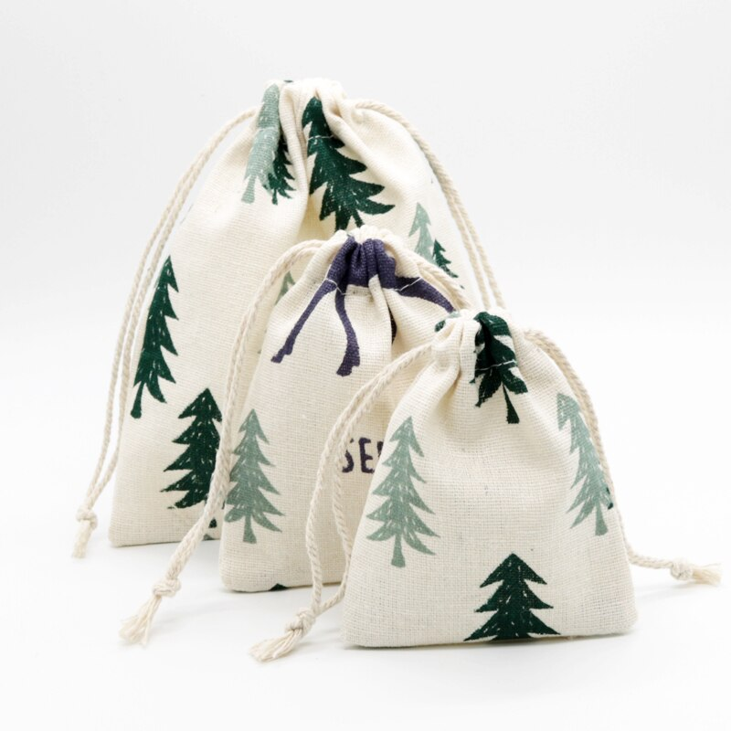¡Caliente! 2 unids/lote bolsas de algodón de tamaño grande de 19x24cm para regalo de caramelo bolsas de embalaje para teléfono móvil bolsas de varios colores