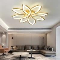 modern living room led ceiling lamps nordic minimalist bedroom kitchen decorative lamp restaurant golden ceiling lighting device