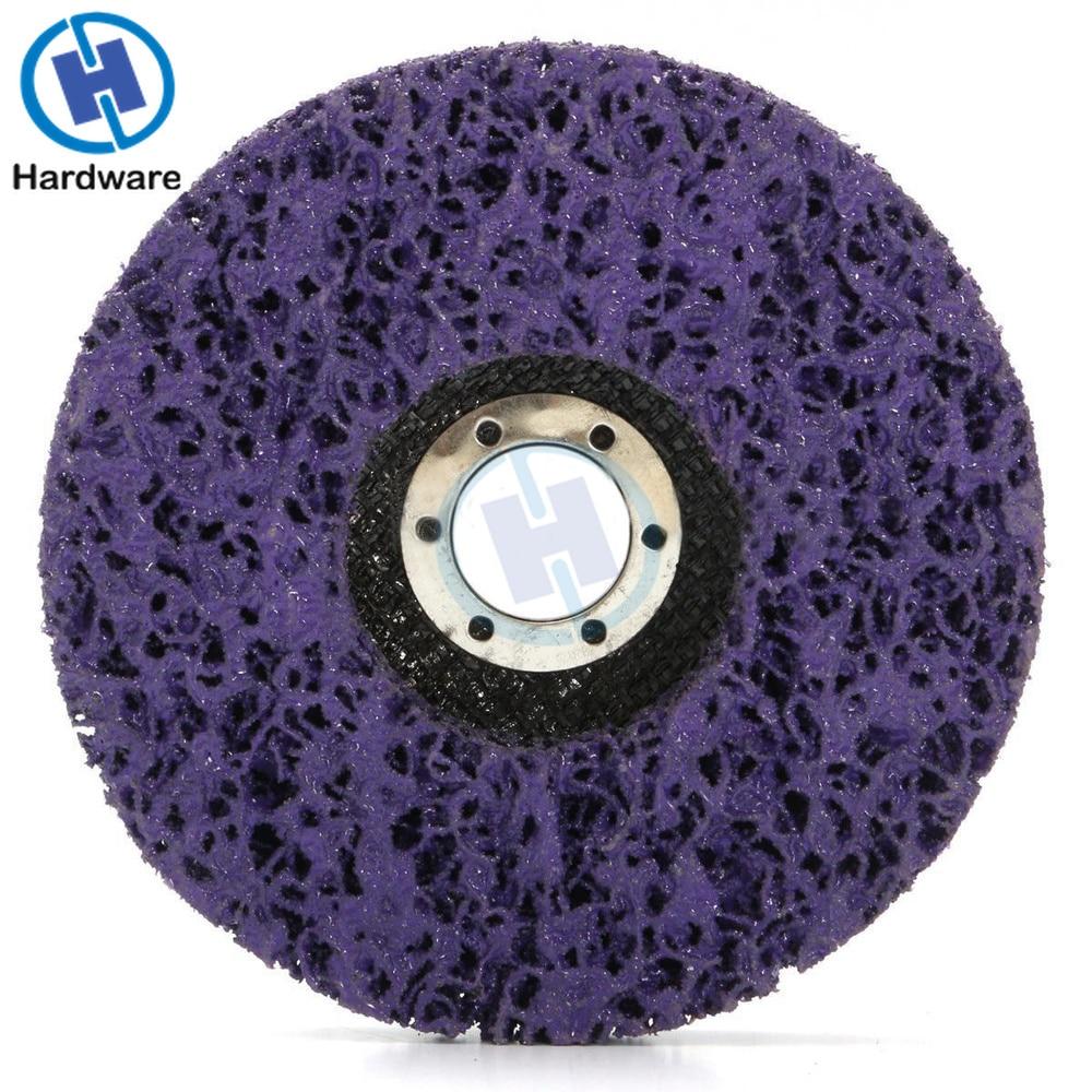 2 uds 125mm disco de tira de polietileno rueda abrasiva pintura - Herramientas abrasivas - foto 5