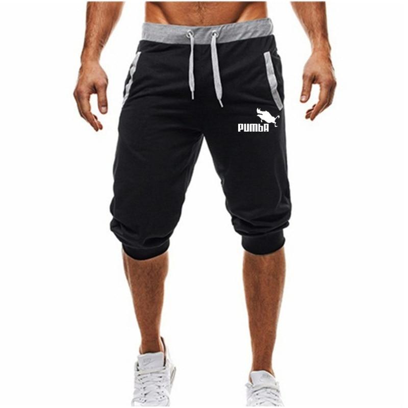 AliExpress - Plus Size Shorts pumba Running Shorts Training Shorts Workout Bodybuilding Sports Men Casual Male Fitness Jogging Training Short