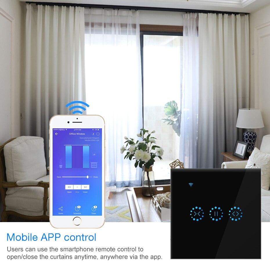 مفتاح ستارة ذكي يعمل باللمس ، واي فاي ، 110 فولت-240 فولت ، تطبيق Ewelink ، تحكم صوتي ، Alexa ، Google home ، محرك/ضوء