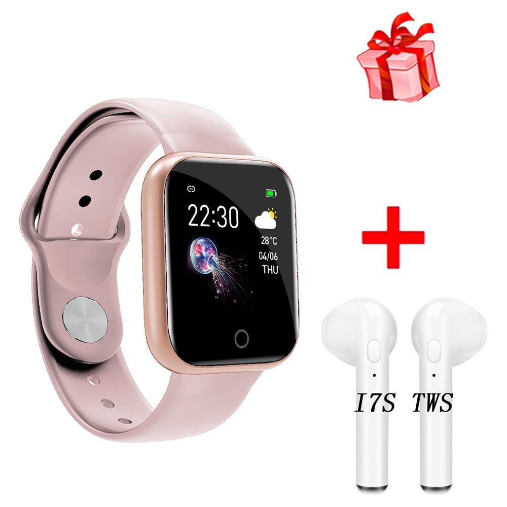 Nuevo reloj inteligente I5 para mujer, resistente al agua, P70 P68, Smartwatch Bluetooth para Apple IPhone Xiaomi, Monitor de ritmo cardíaco, rastreador de Fitness D20