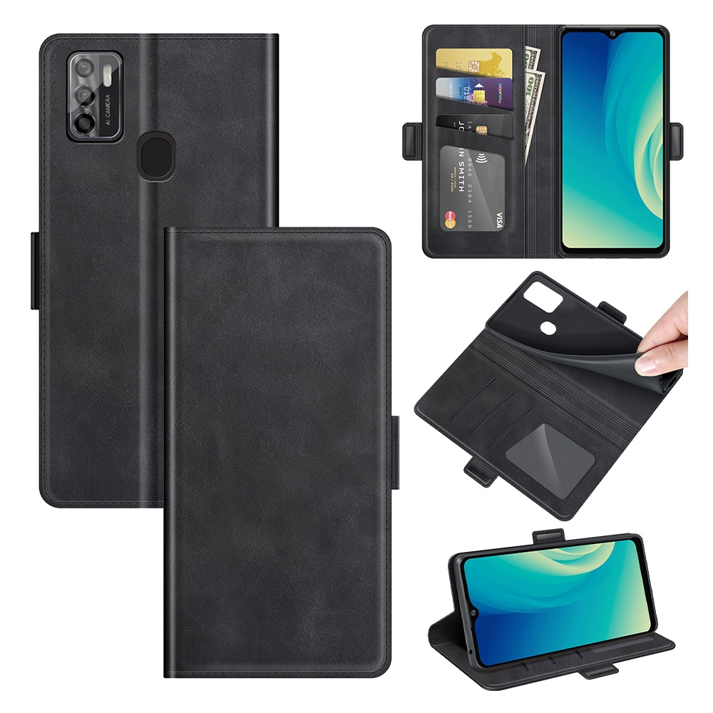 Case For ZTE A7S 2020 Leather Wallet Flip Cover Vintage Magnet Phone Case For Blade A7S 2020 Coque