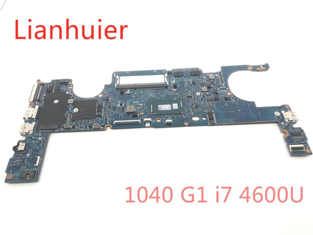 99%NEW For HP EliteBook Folio 1040 G1 Laptop motherboard 803002-601 12295-3 48.4LU01.031 With SR1EA I7-4600U CPU 100% full Teste