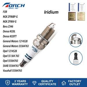 Automobile High Quality Ignition Iridium Spark Plug TORCH K6RGIU for NGK ZFR6BP-G Denso IK20L Beru Z346 General Motors