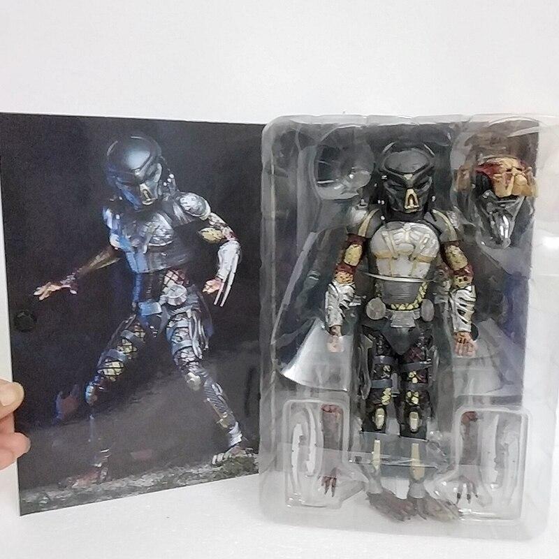 NECA 2 шт. голова инопланетянина против Хищника конечная беглый Хищник разоблаченный фигурка модель игрушки кукла для подарка