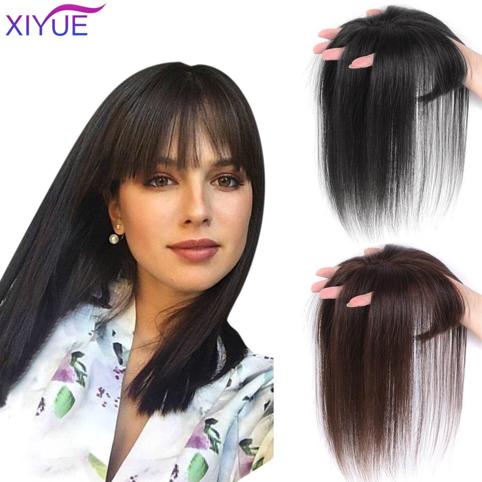 3D челка невидимая бесшовная голова волос вода пульсация парик воздух челка голова накладные естественные невидимые замена крышка белые во...