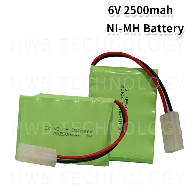 2 pçs/lote Brand New 6V AA 1800mAh Ni-mh Baterias Recarregáveis Pacote Frete Grátis