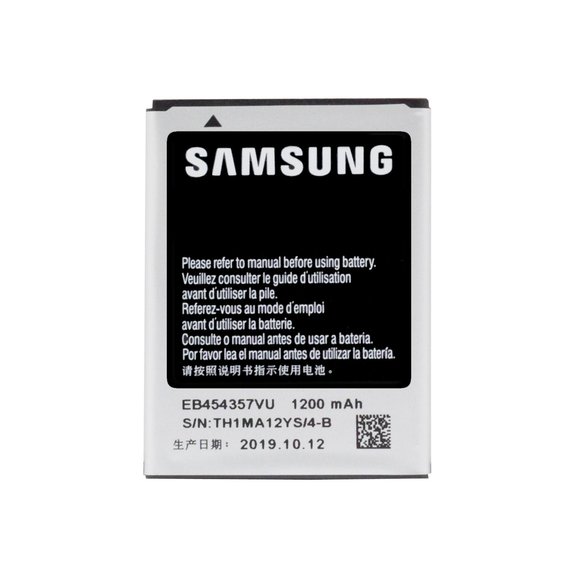 20pcs/lot Original Battery EB454357VU For Samsung Galaxy Y S5360 Y Pro B5510 Wave S5380 Pocket S5300 Chat B5330 1200mAh enlarge