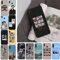 felix stray kids hyunjin chan woojin phone case for redmi note 8pro 8t 9 redmi note 6pro 7 7a 6 6a 8 5plus note 9 pro case