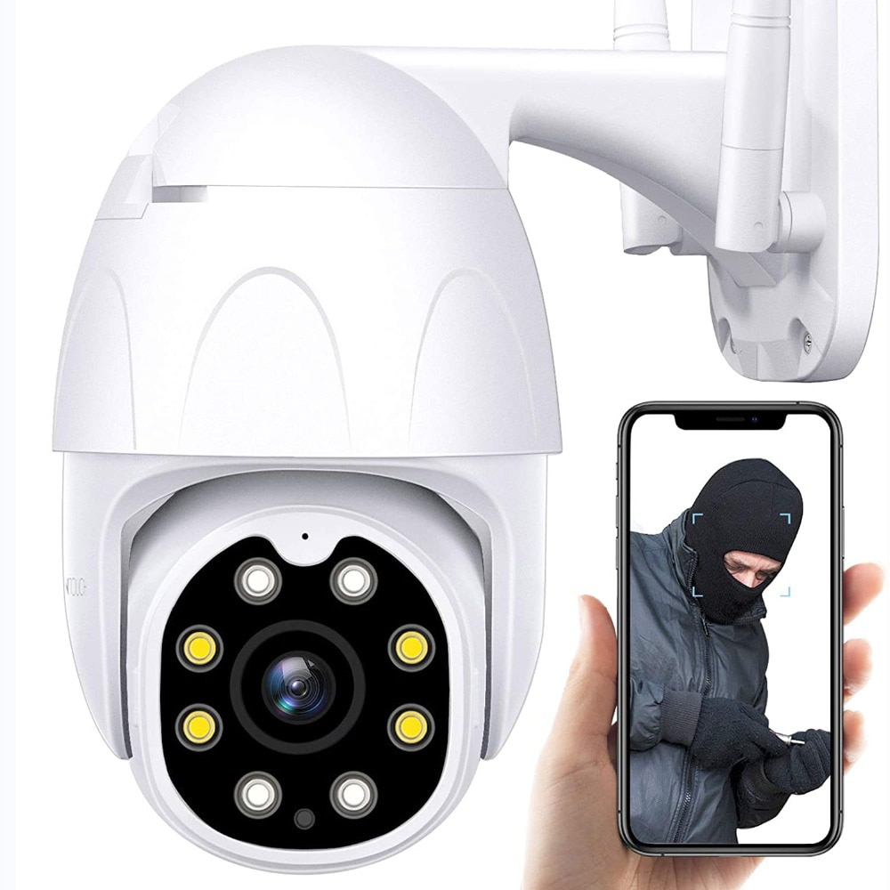 a9 camera wifi home security 1080p camera 4k hd security outdoor sports hd night vision 1080p aerial motion dv PTZ Security Camera Outdoor, 1080P HD WiFi IP Camera for Home Security Surveillance, Floodlight, Night Vision, Motion Detection