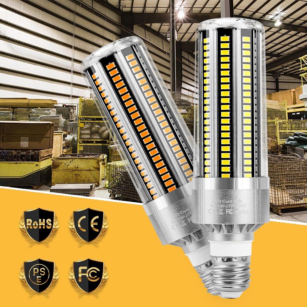 85-265V Led-lampe E27 Mais Birne Lampe E26 LED Lampe 25W 35W 50W 54W LED Bombillas Helle Licht Energiesparende Licht Hause Beleuchtung