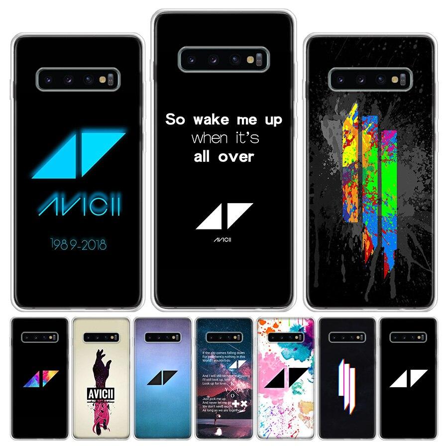Avicii Phone Case For Samsung Galaxy S6 S7 S8 S9 S10 S10E S20Ultra Plus Lite J4 J6 J8Plus Note 8 9 10 Plus Cover