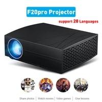 F20pro LCD PROJECTEUR LED HD 1920 1080P MULTIMEDIA Smart Tv Numerique Projecteur Video TV Box Beamer Home Cinema Cinema Lecteur