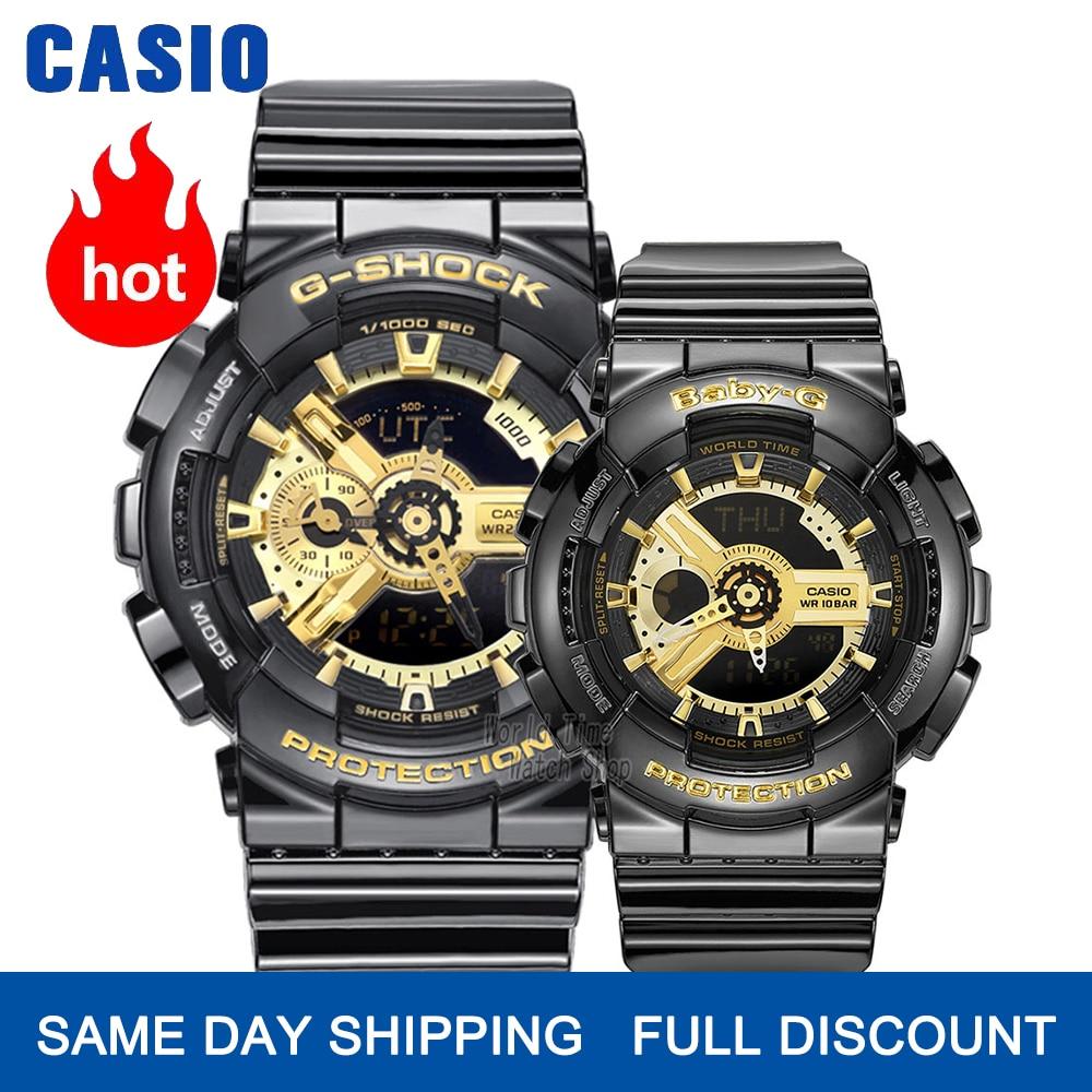 Casio watch g shock couple watch men luxury brand set LED military clocks digital wristwatch Chronograph Waterproof watch women