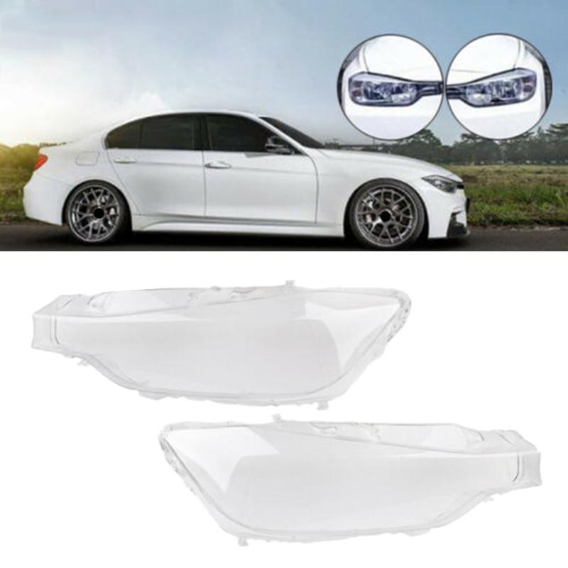 Автомобильная фара стеклянная фара крышка объектива для BMW F30 F31 3 серии 2013 2014 2015 2016
