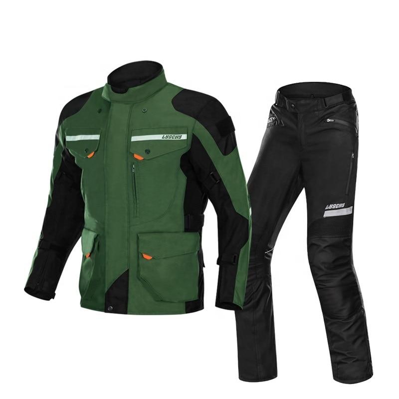 ملابس سباق الدراجات النارية, سترة مقاومة للماء قابلة للتنفس دراجة نارية سترة وسروال دراجة نارية بالجملة