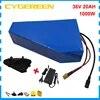 Batterie Lithium 36V 20ah 30ah 1000W pour vélo électrique Ebike avec BMS chargeur 42V/2a